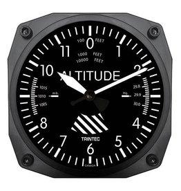 Trintec Classic Altimeter Clock 6 inch 9060