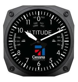 Trintek Cessna Altimeter Clock 6 inch CES-9060