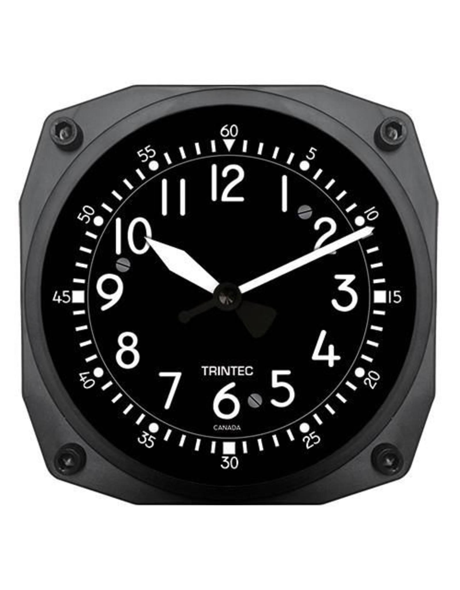 Trintec Classic Cockpit Clock 6 inch 9065