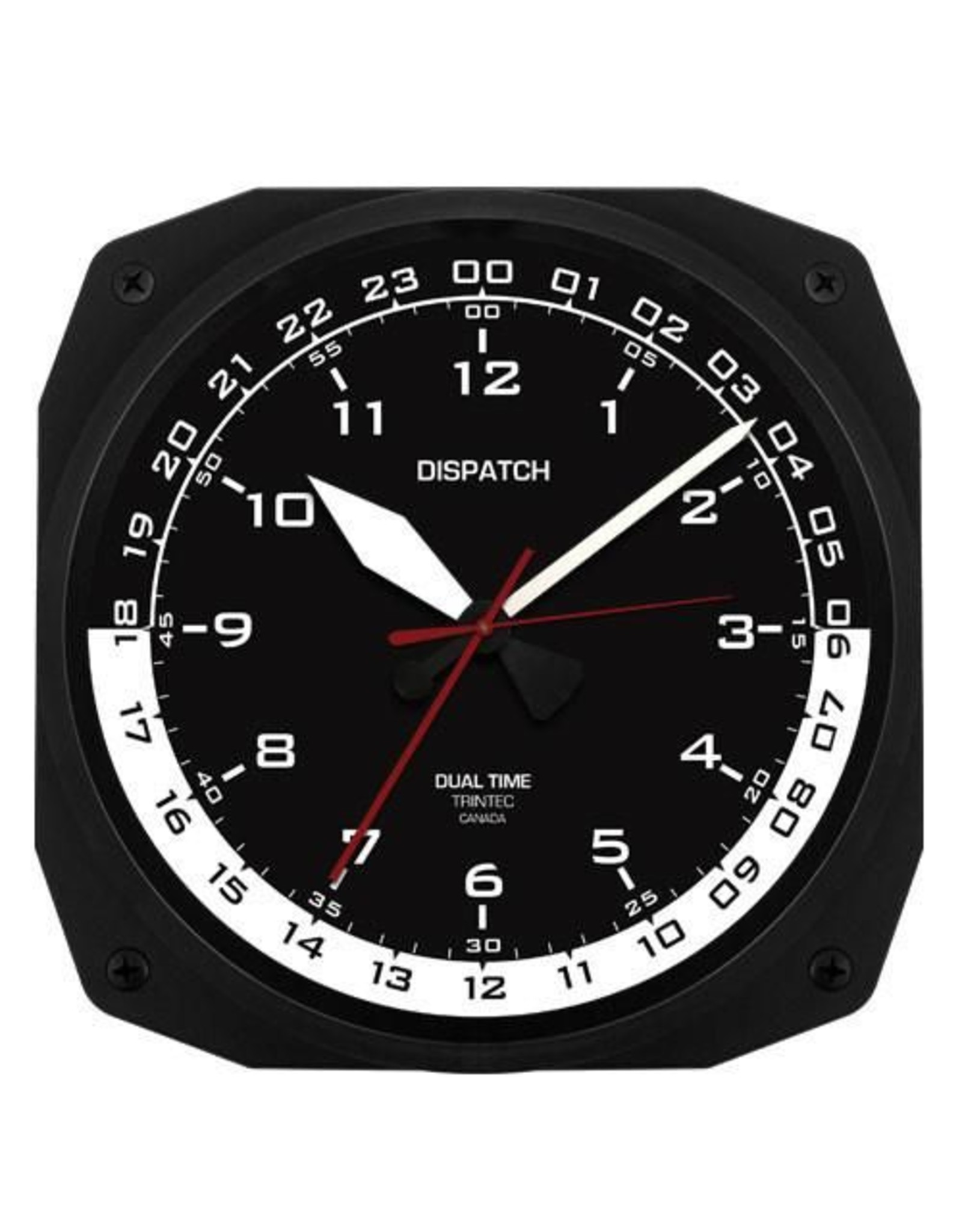 Trintec Dispatch Style Clock 10 inch DSP-10