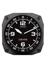 Trintec Flightime Cockpit Clock 6 inch 9065-FT