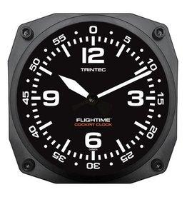 Trintec Flightime Cockpit Clock 6 inch 9065-FT