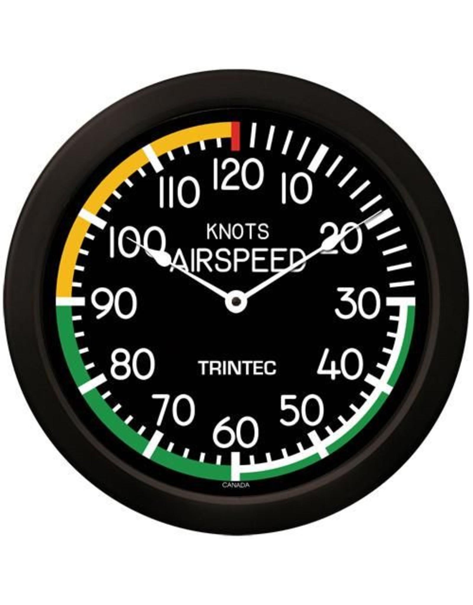 Trintec Modern Airspeed Clock 14 inch 2061-14