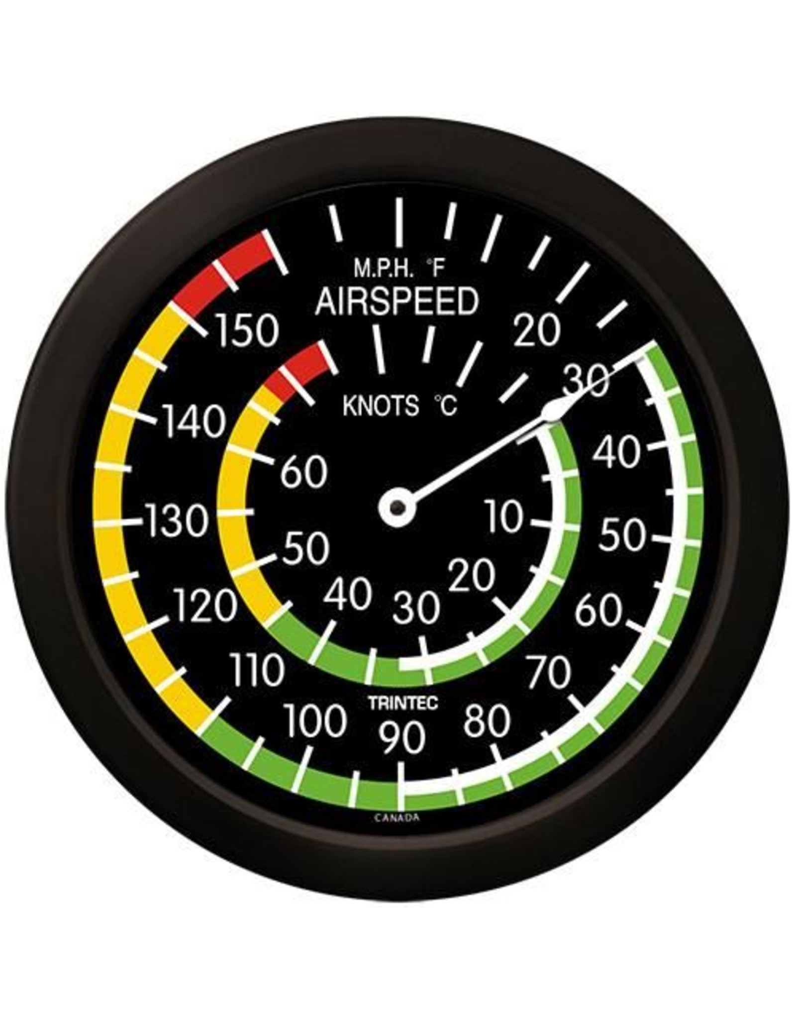 Trintec Classic Airspeed Thermometer 14 inch 9061-14
