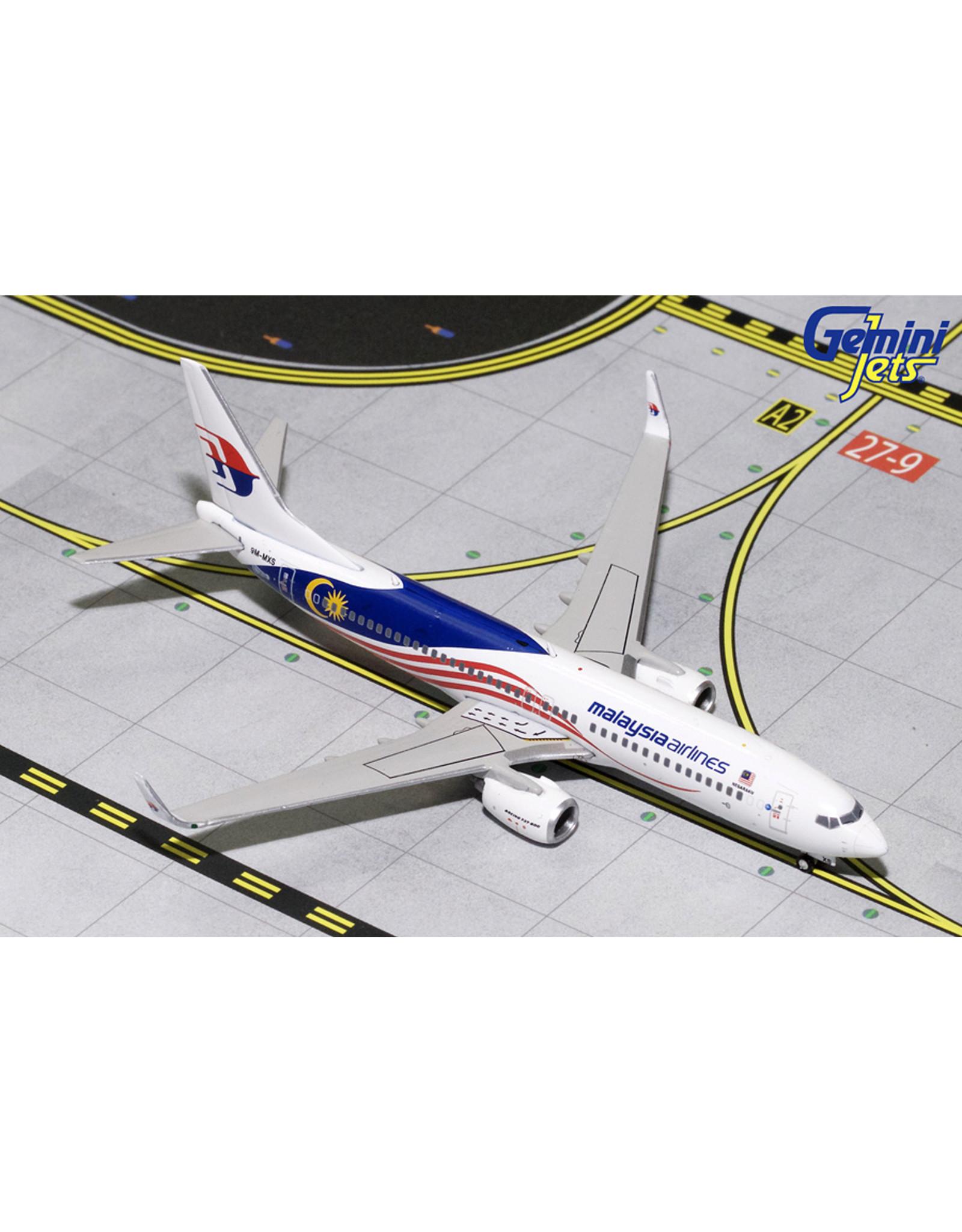 Gemini Gem4 Malaysia 737-800w