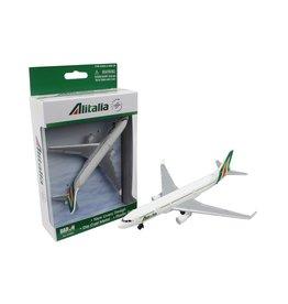 Single Plane Alitalia