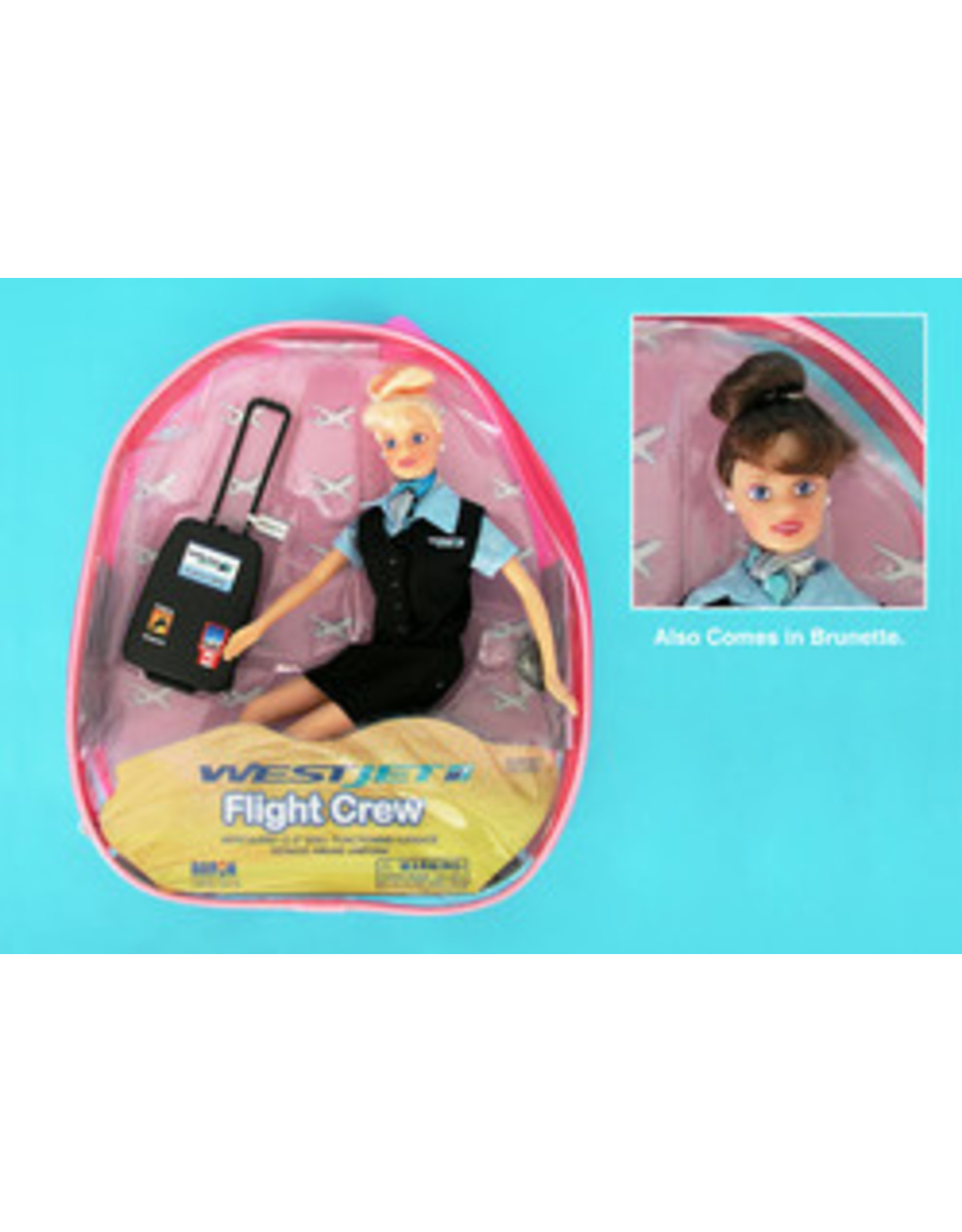 Flight Attendant Dolls Westjet Flight Attendant Doll