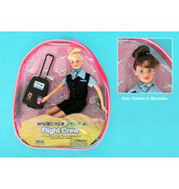 Flight Attendant Dolls Westjet Flight Attendant Doll