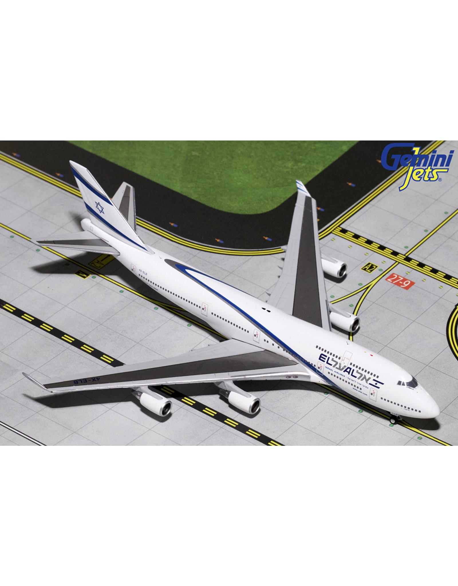 Gemini Gem4 El Al 747-400 Farewell Flight