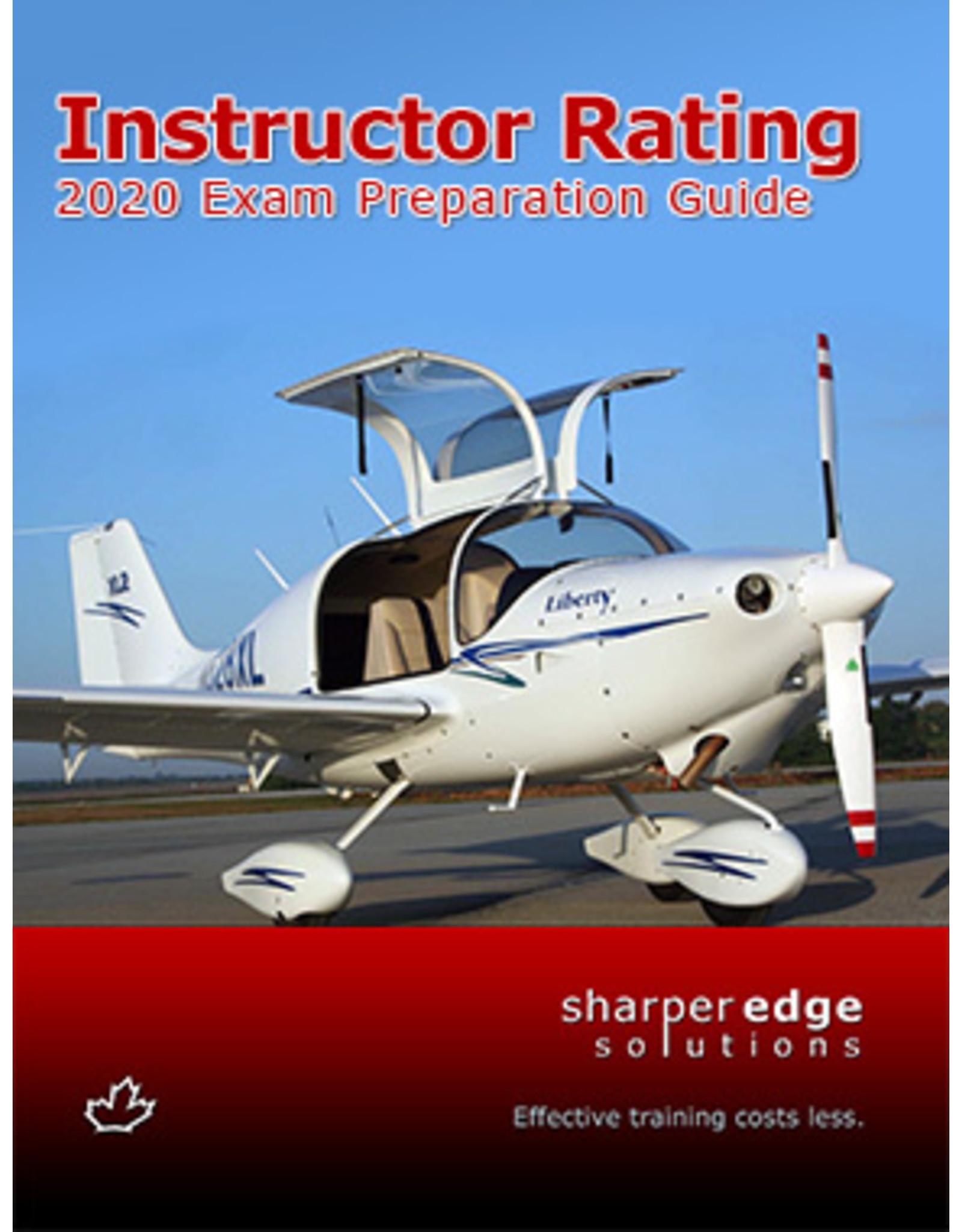 Sharper Edge Instructor Prep 2020
