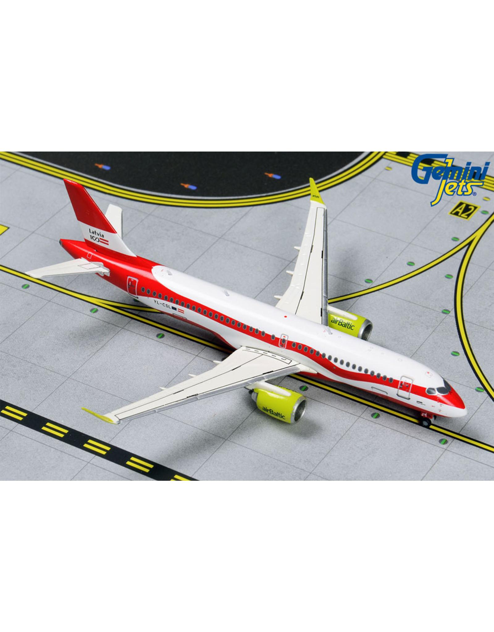 Gemini Gem4 Air Baltic A220-300 Latvia 100