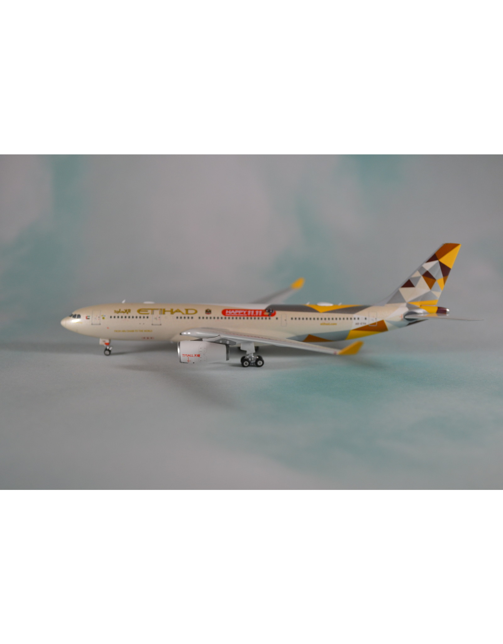 PH4 Etihad A330-200 Happy 11.11, TMall A6-EYH