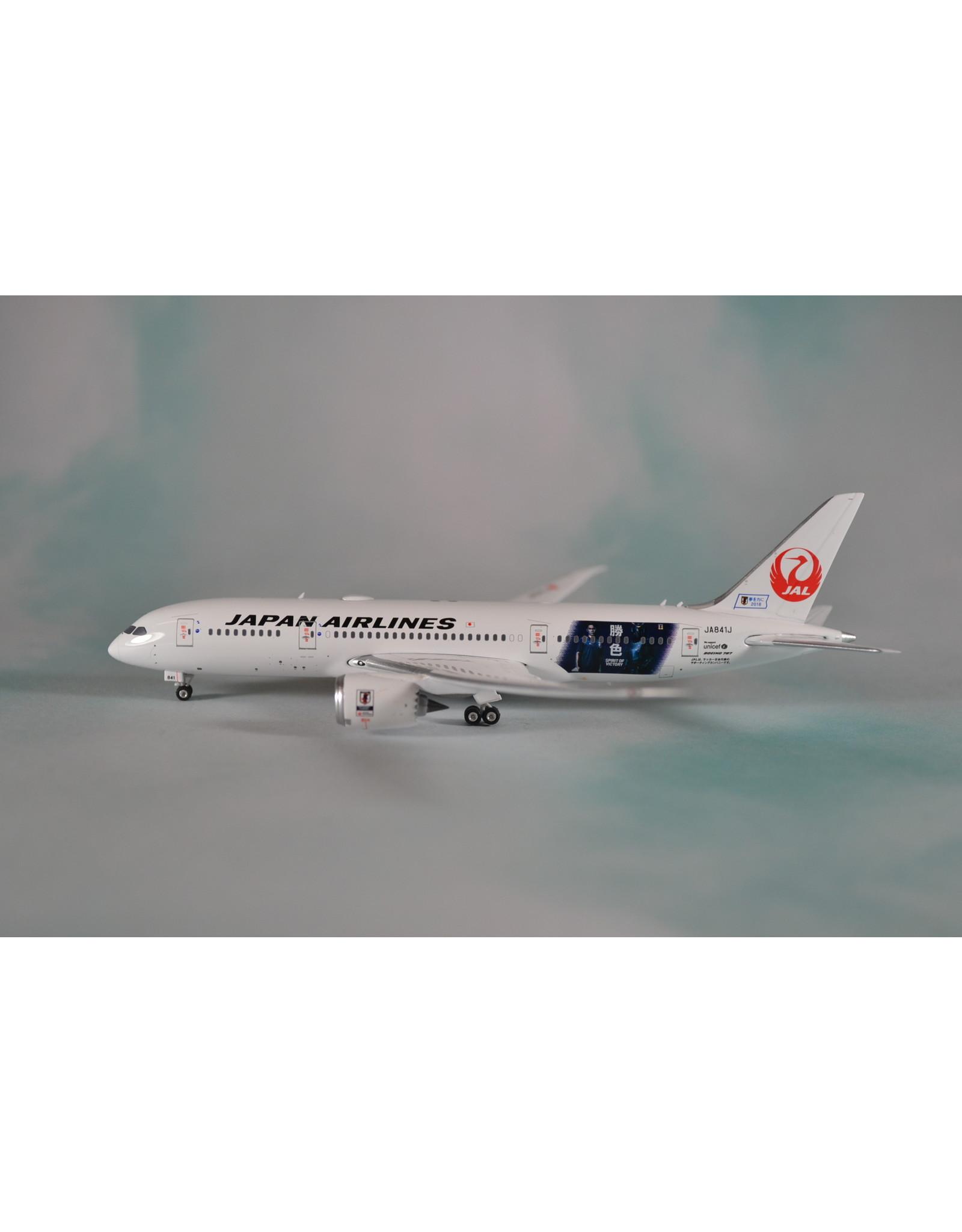 PH4 JAL 787-8 Spirit of Victory JA841J