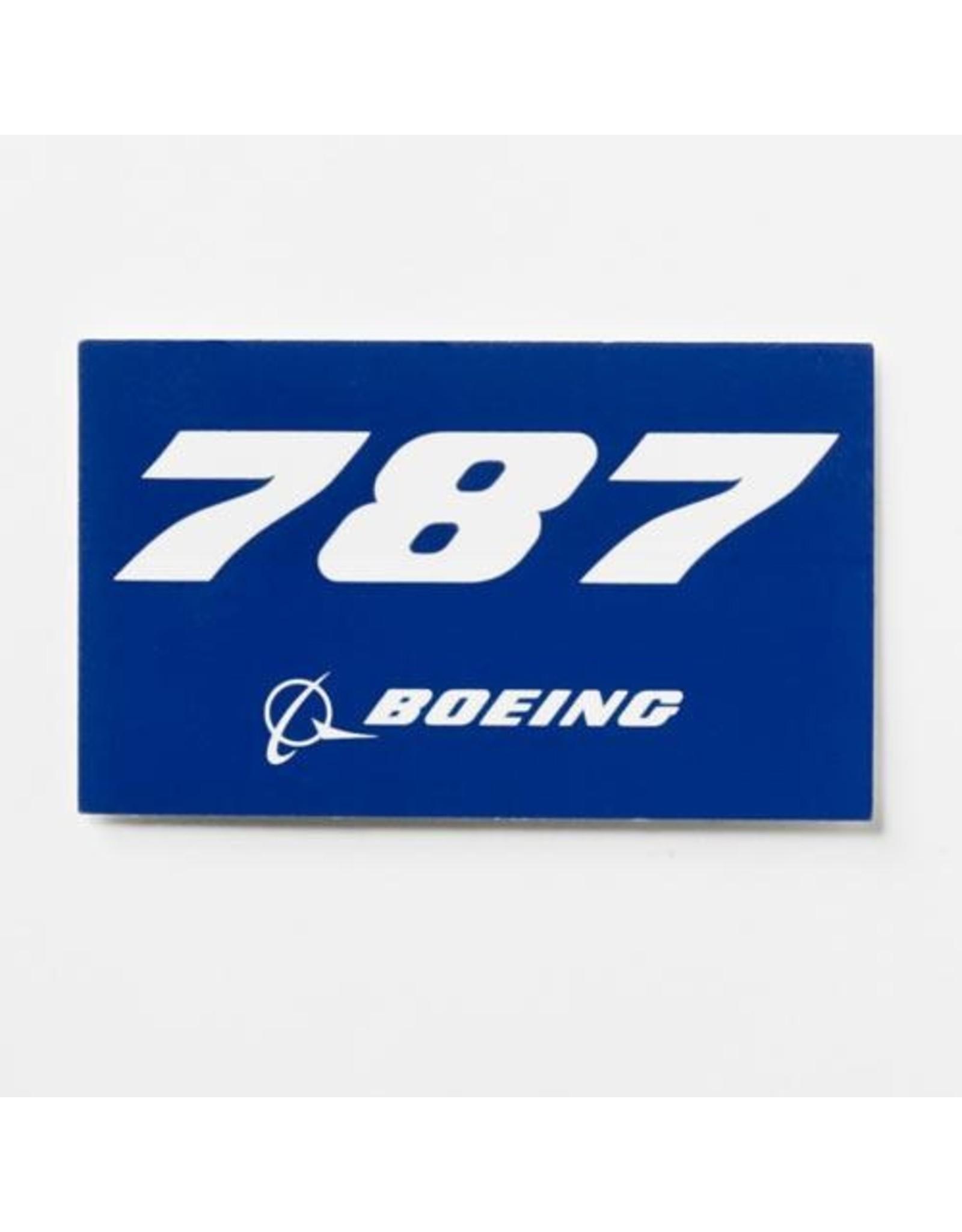 Sticker 787 rectangle