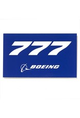Sticker 777 rectangle