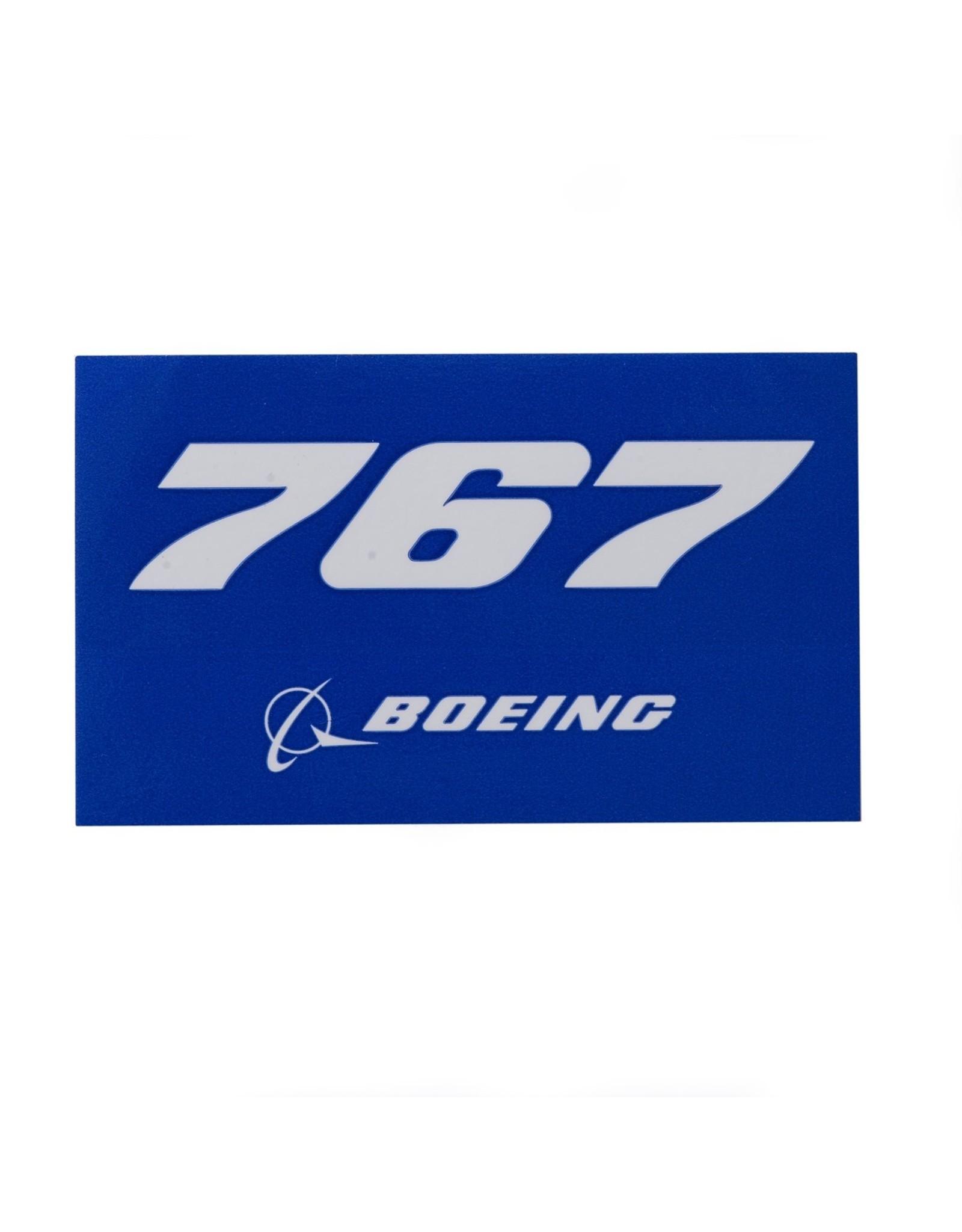 Sticker 767 rectangle