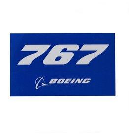 Sticker 767 rectangle