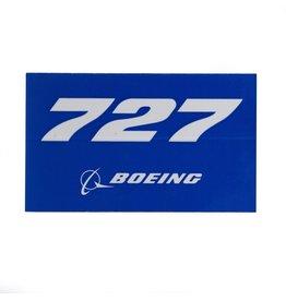Sticker 727 rectangle