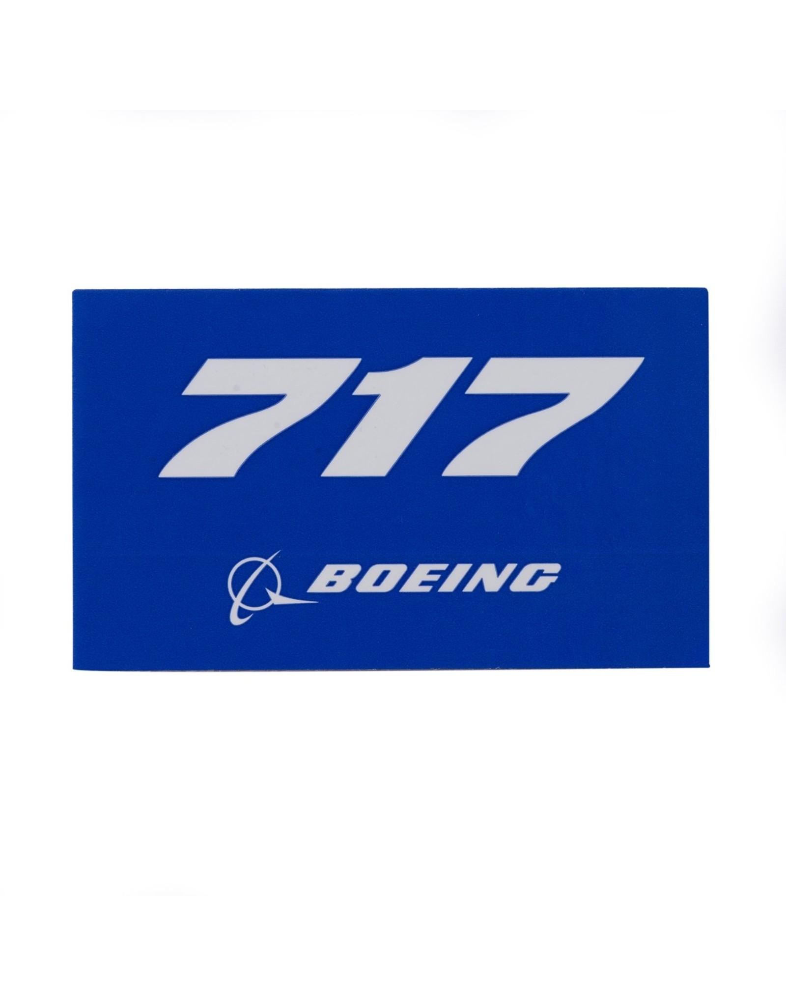 Sticker 717 rectangle