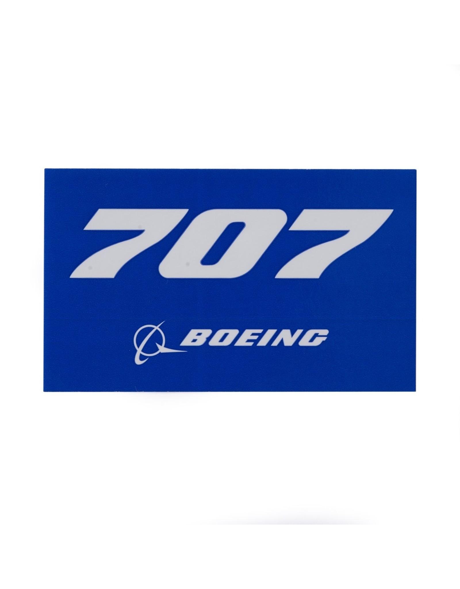 Sticker 707 rectangle