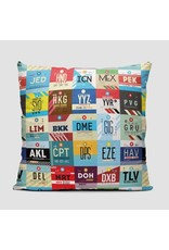 Pillow World Airports 16""