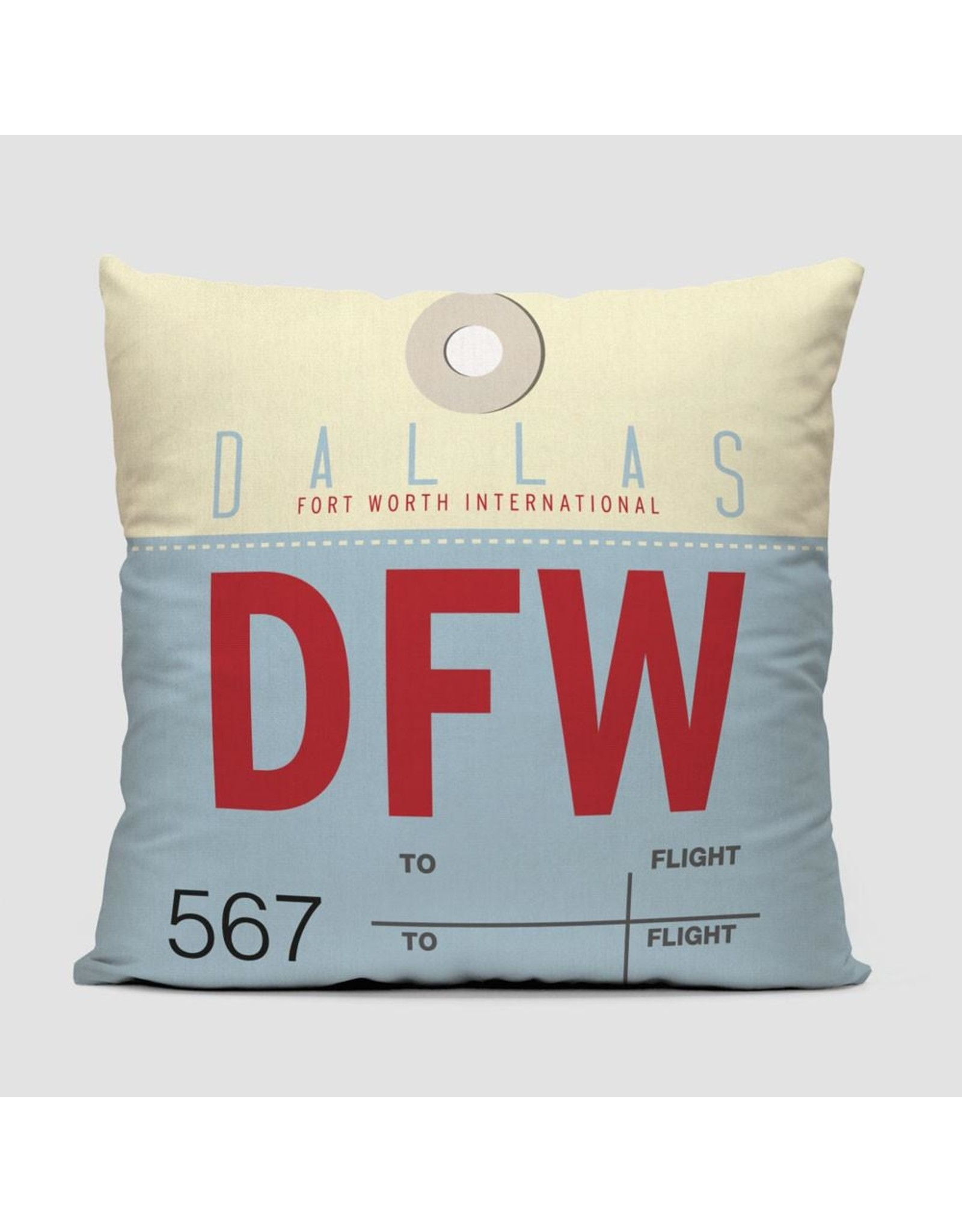 Pillow DFW Dallas Fort Worth 16""