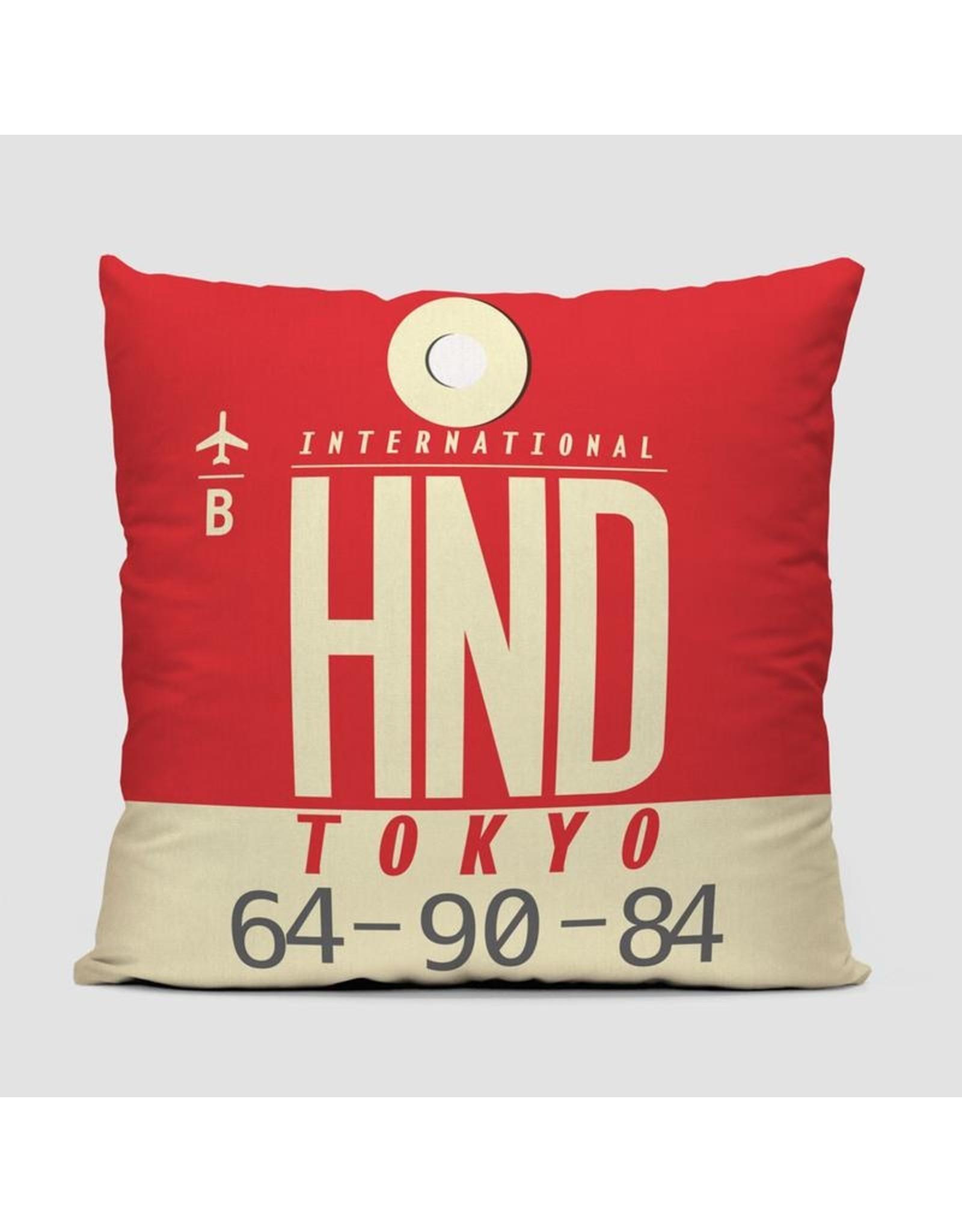 "Pillow HND Tokyo Haneda 16"""