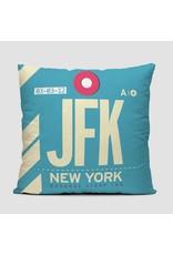 "Pillow JFK New York Kennedy 16"""