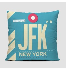 Pillow JFK New York Kennedy 16""