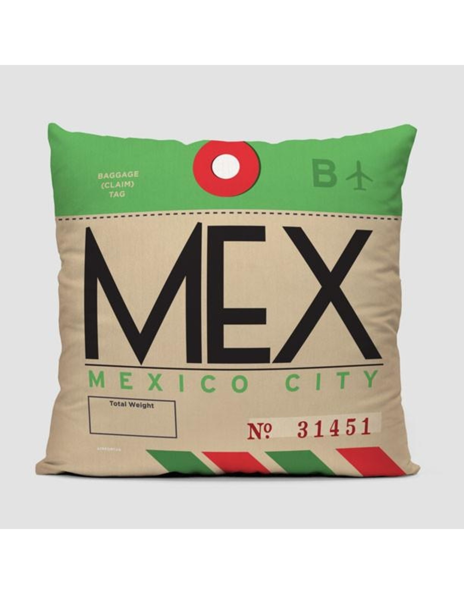 Pillow MEX Mexico City 16""