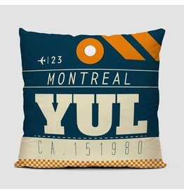 Pillow YUL Montreal 16""