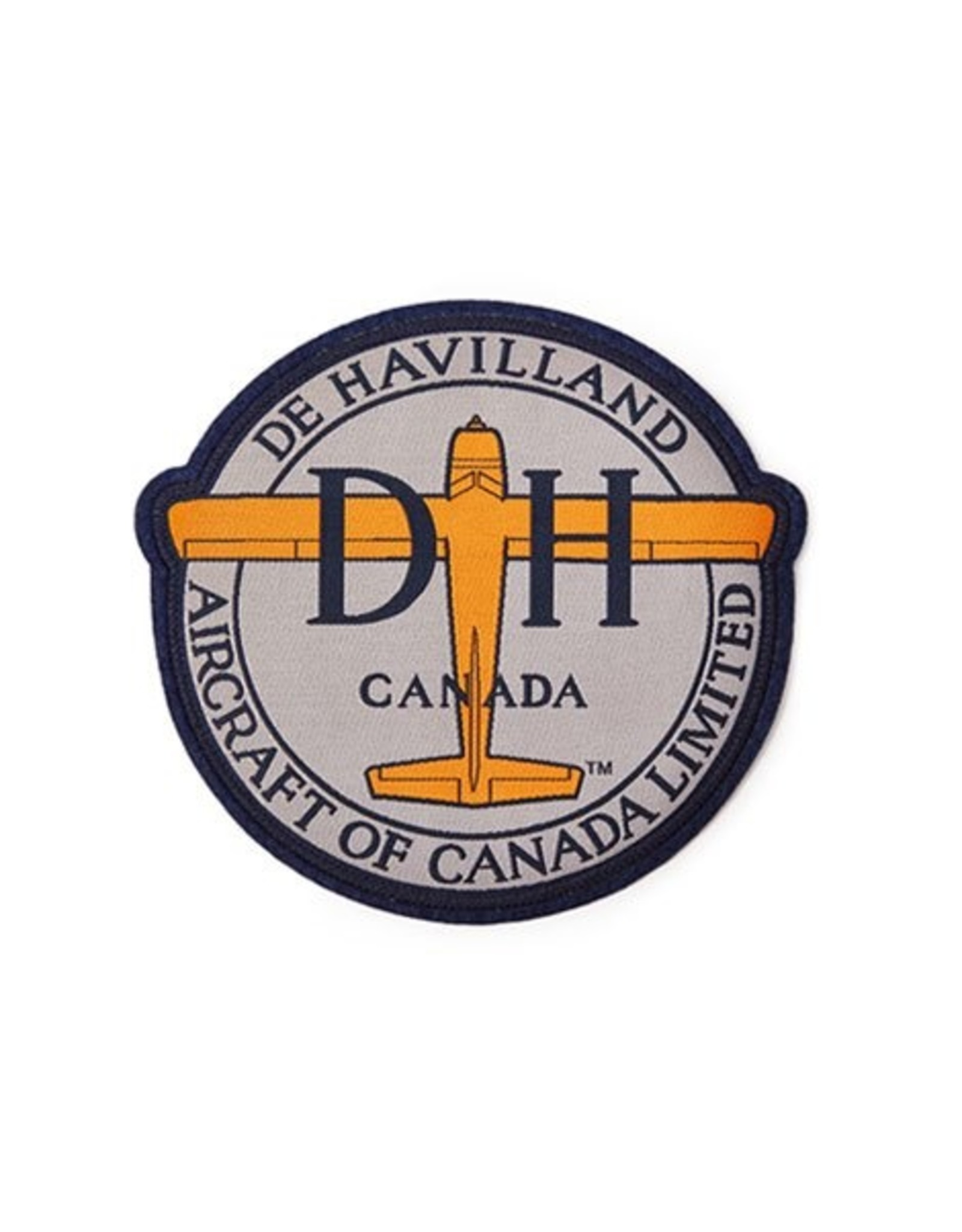 Red Canoe Patch DeHavilland large