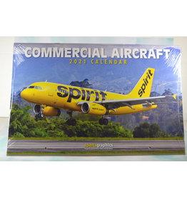 Sparta Calendar 2021 Commercial Aircraft
