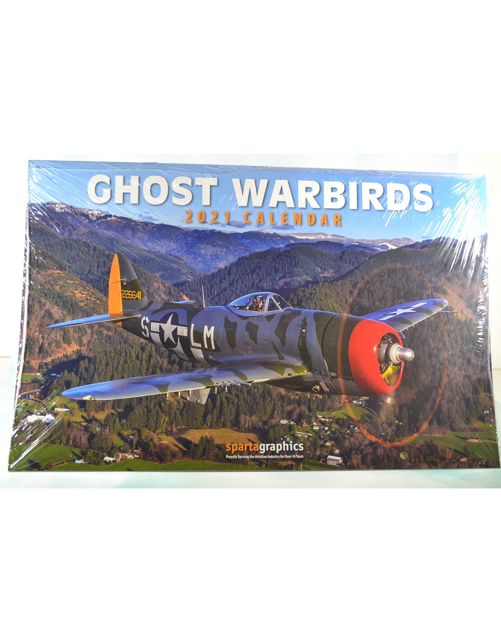Sparta Calendar 2021 Ghost  Warbirds