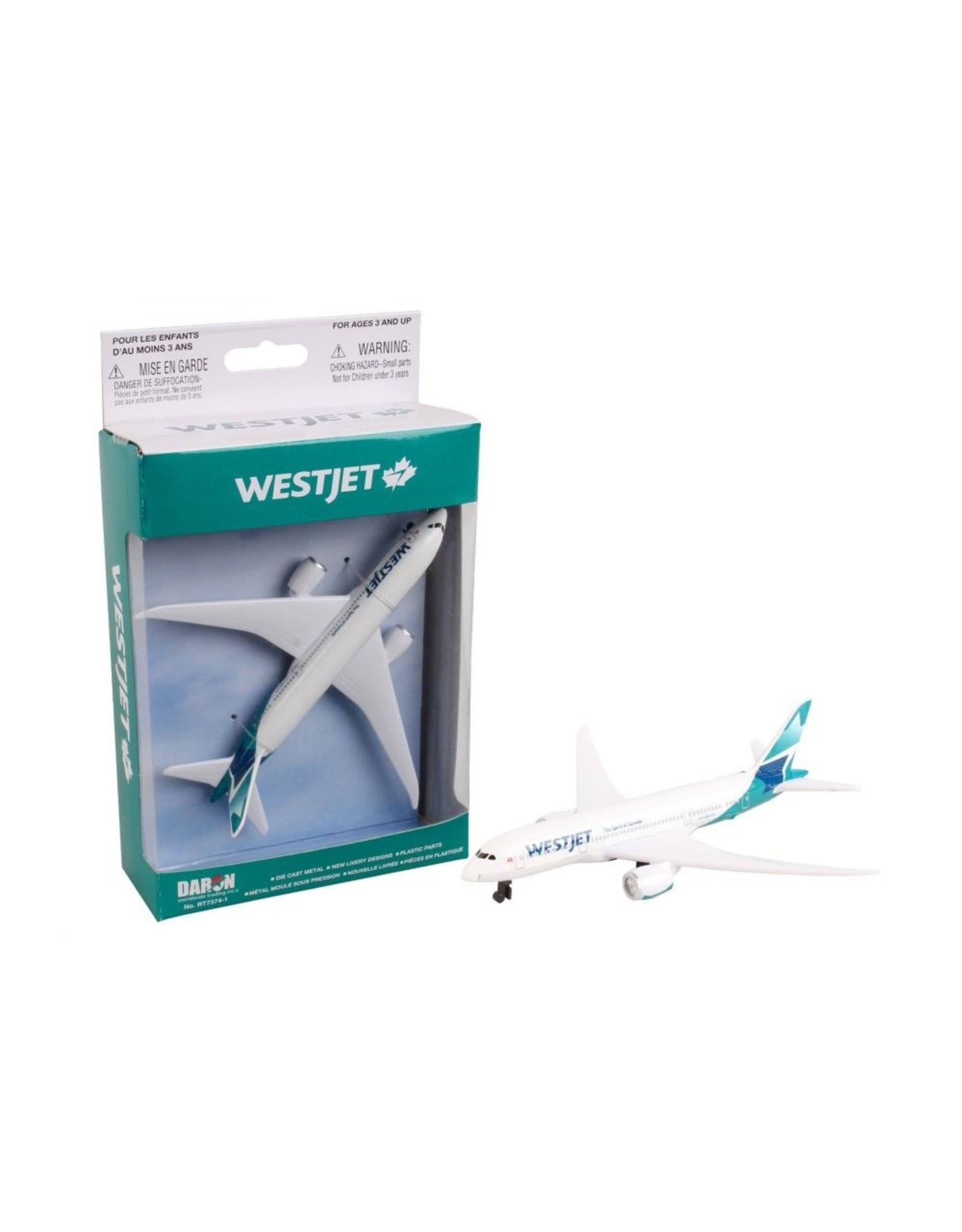 Single Plane Westjet 787 new