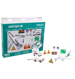 Daron Playset Westjet new livery