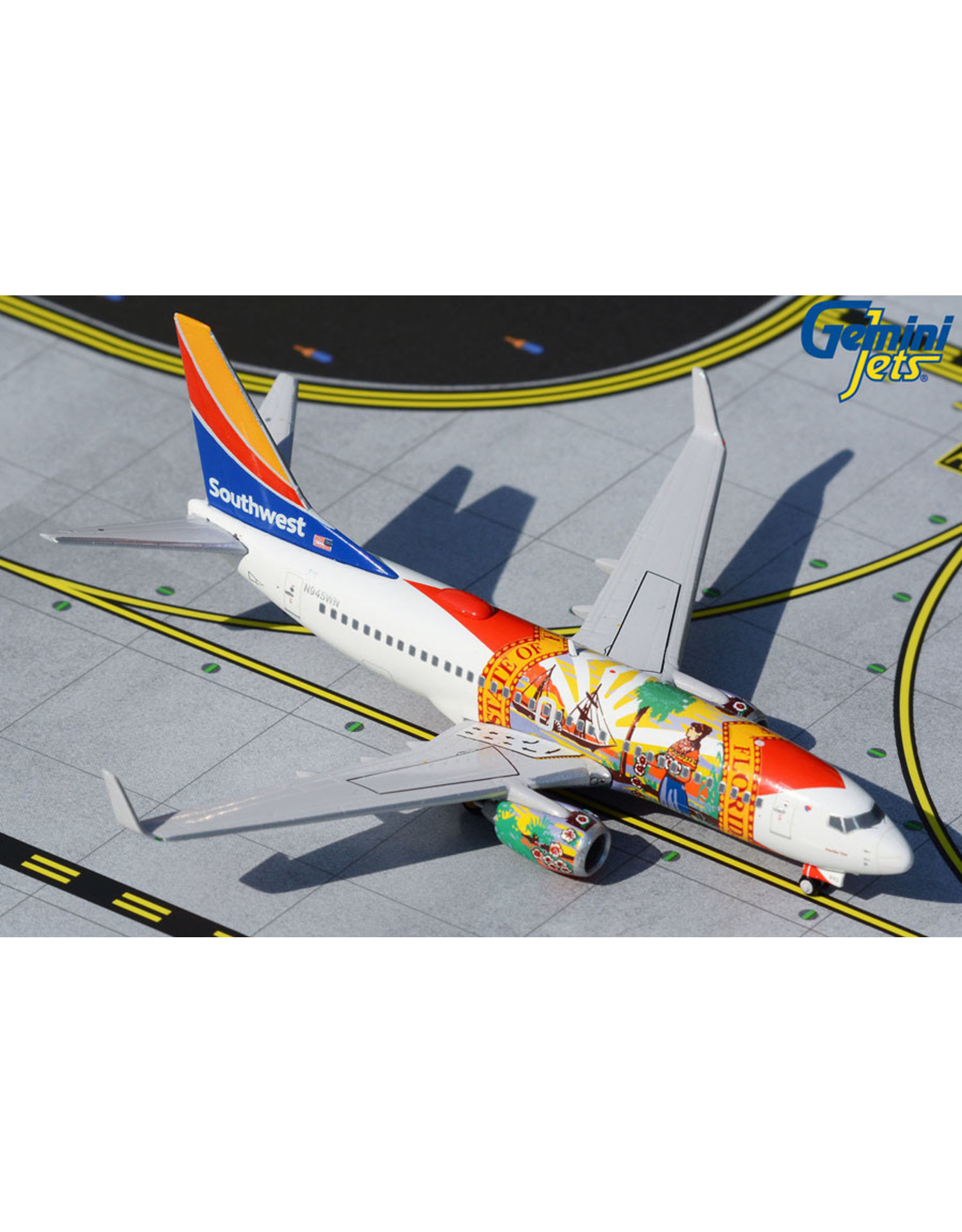 Gemini Gem4 Southwest 737-700 Florida One