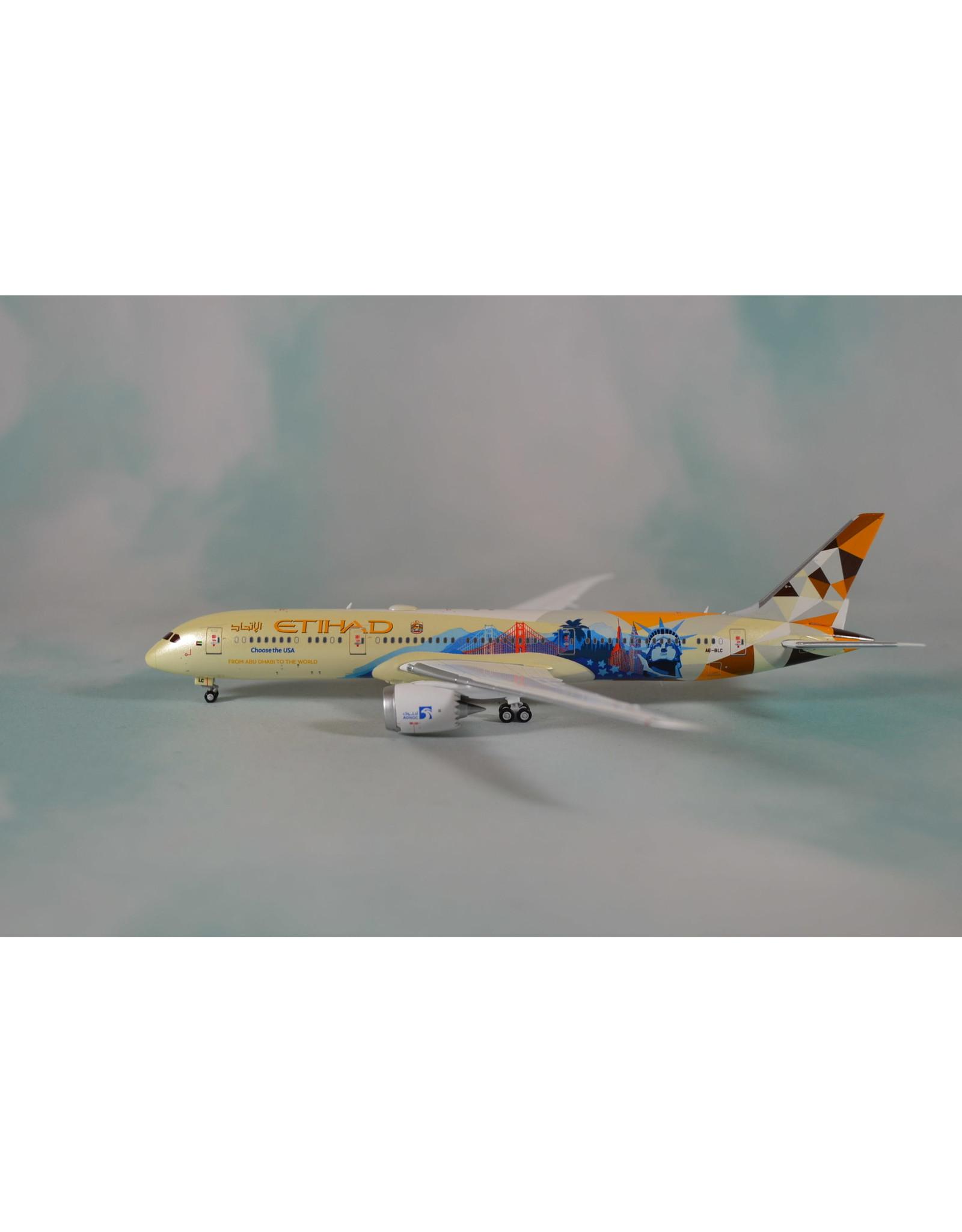 JC Wings JC4 Etihad 787-9 Choose the USA A6-BLC