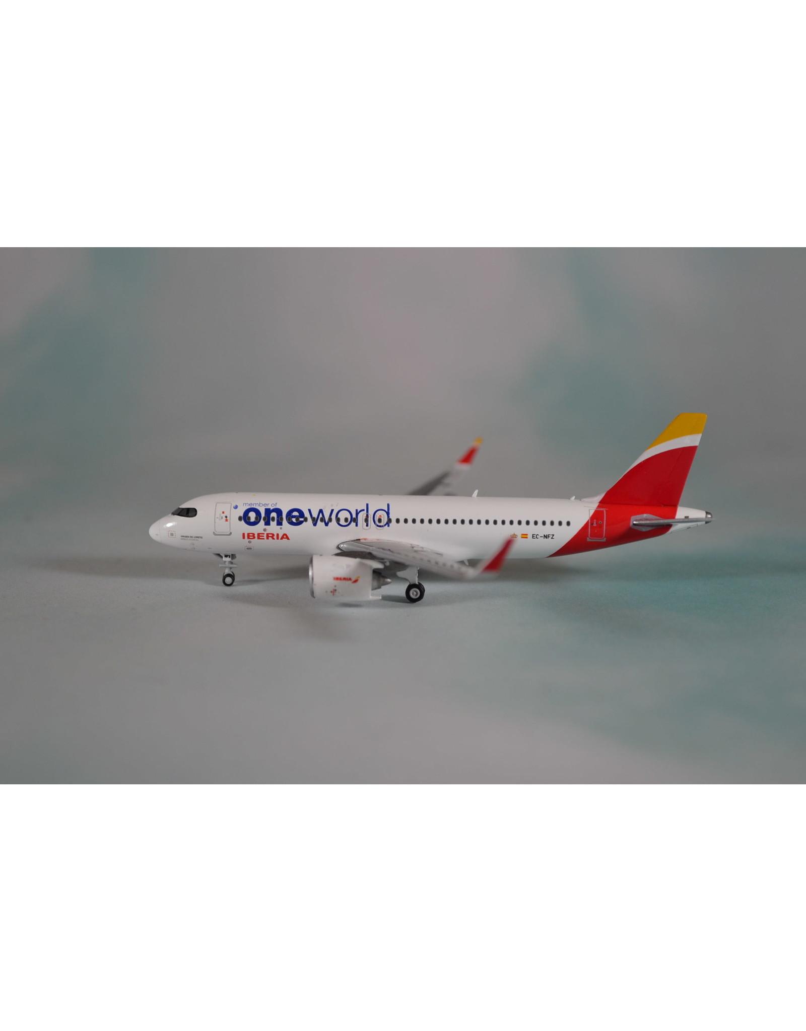 JC Wings JC4 Iberia A320neo One World