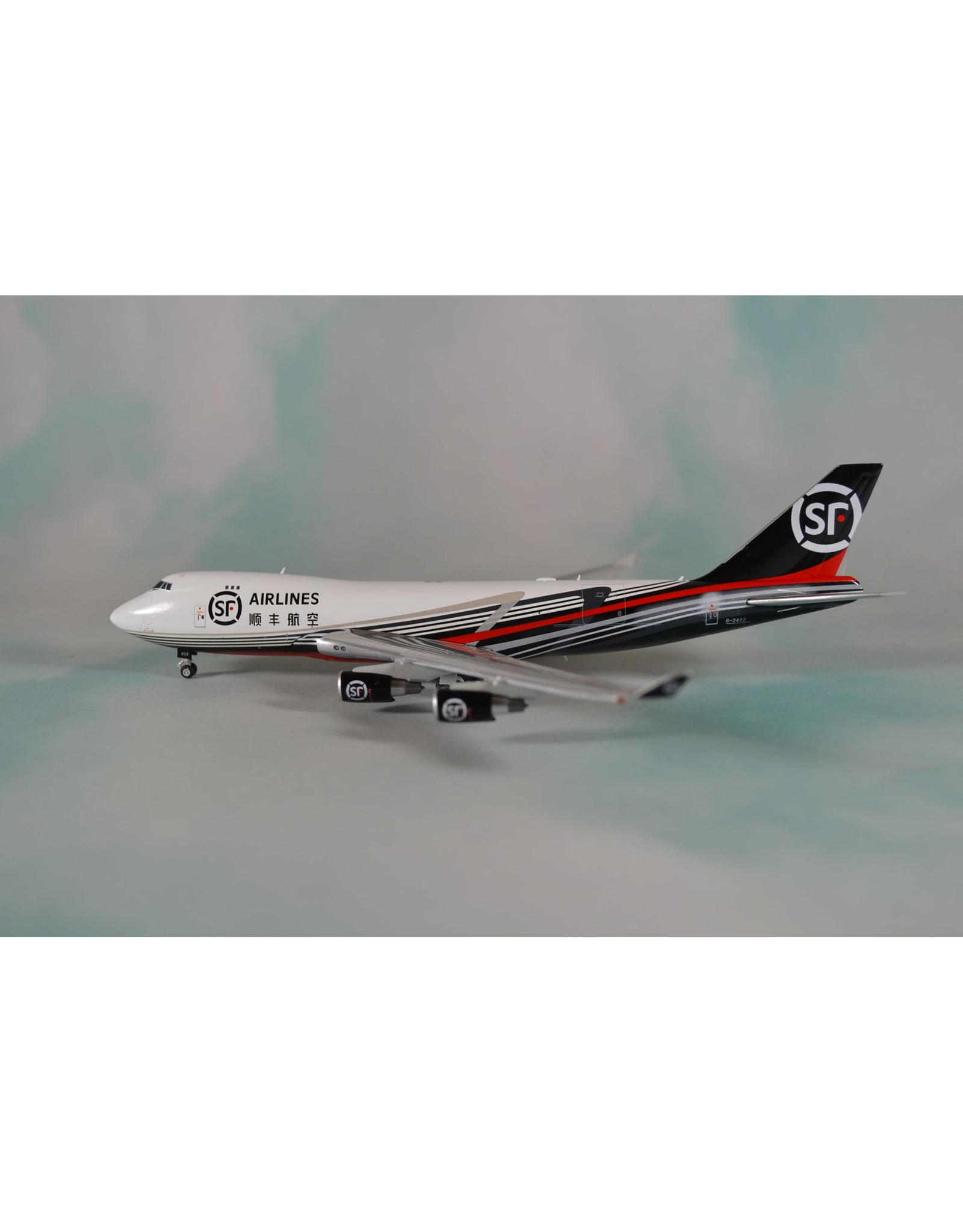 JC Wings JC4 SF Air 747-400ERF B-2422