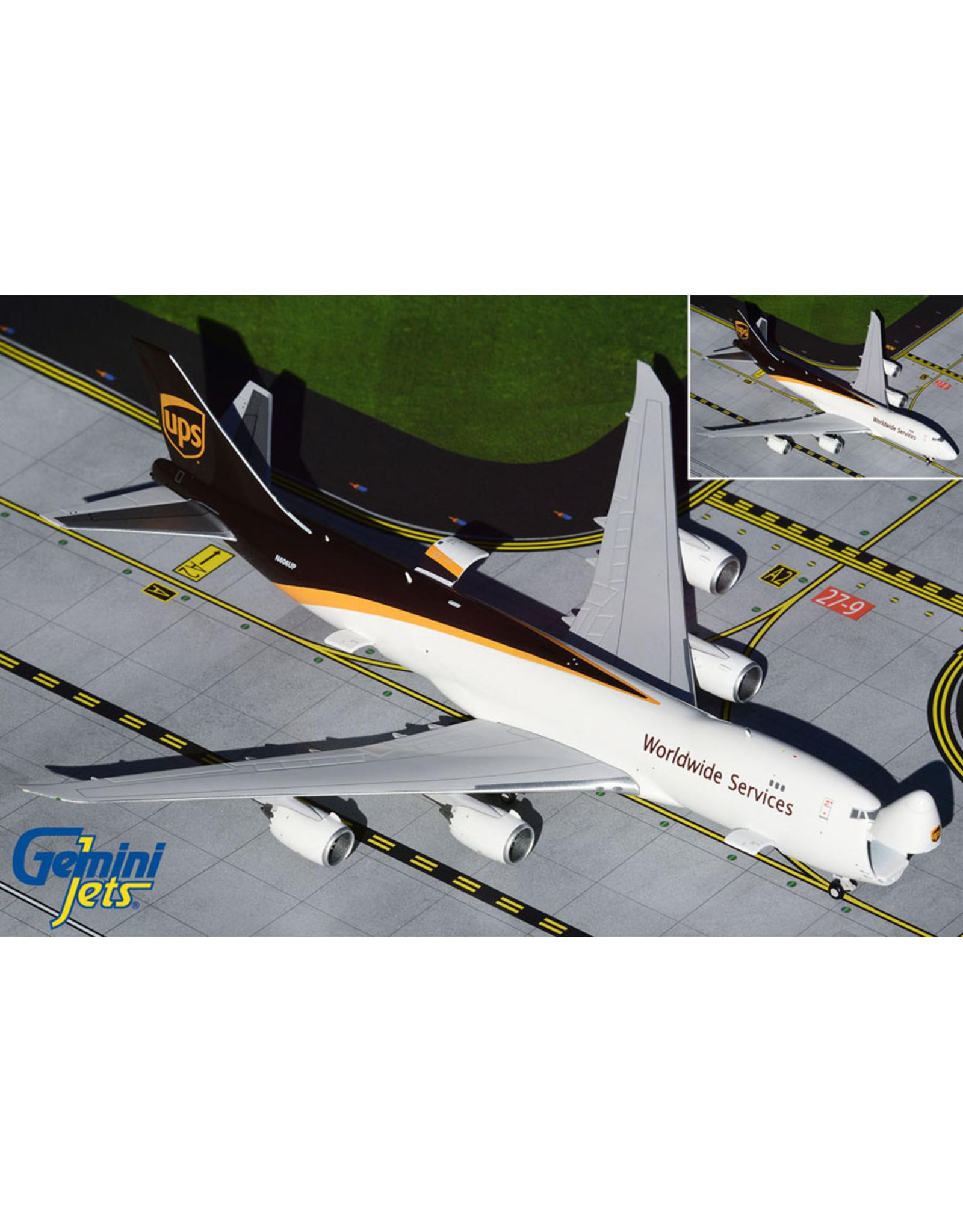 Gemini Gem4 UPS 747-8F interactive