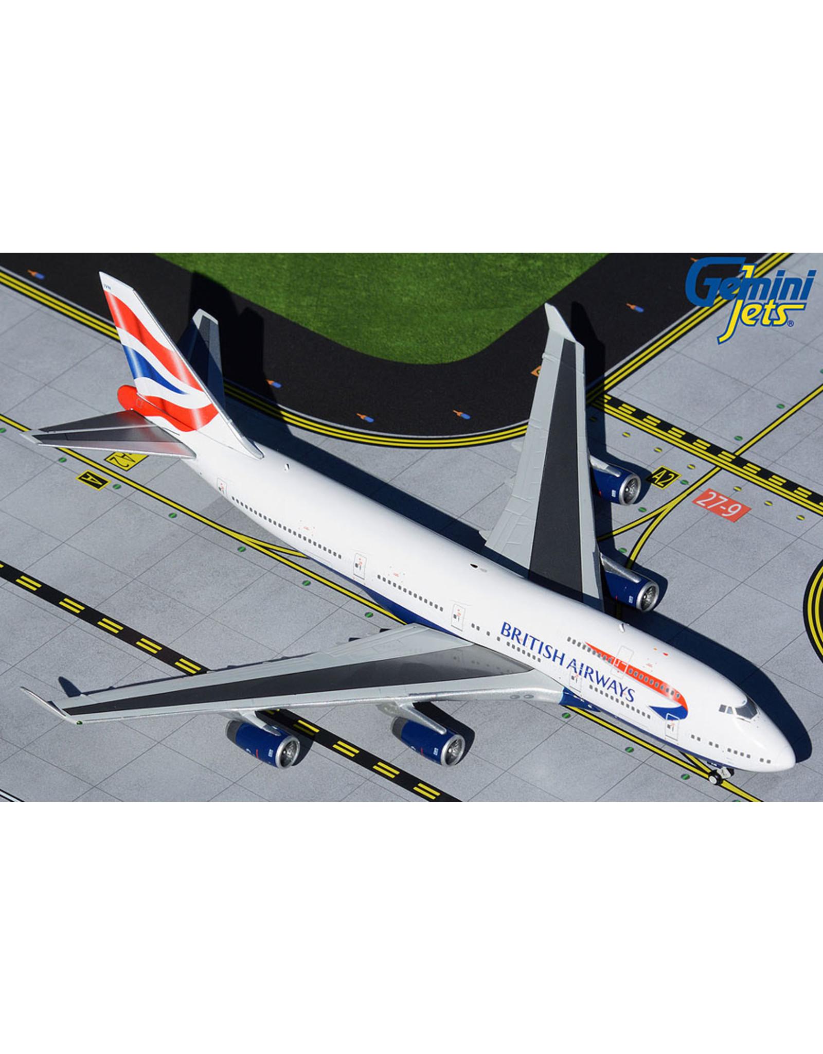 Gemini Gem4 British 747-400 G-CIVN