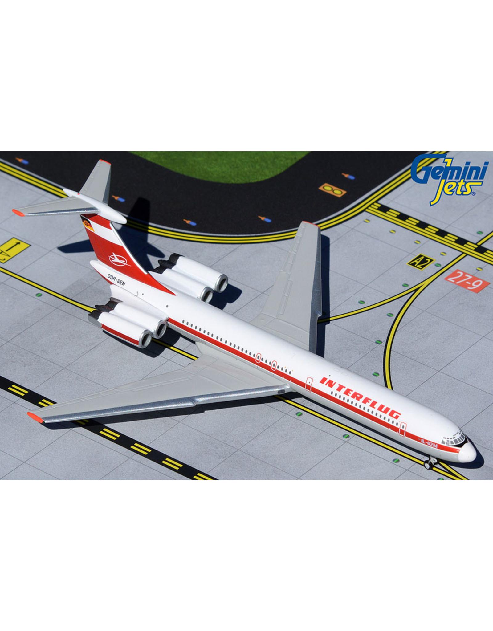 Gemini Gem4 Interflug Il-62M DDR-SEN