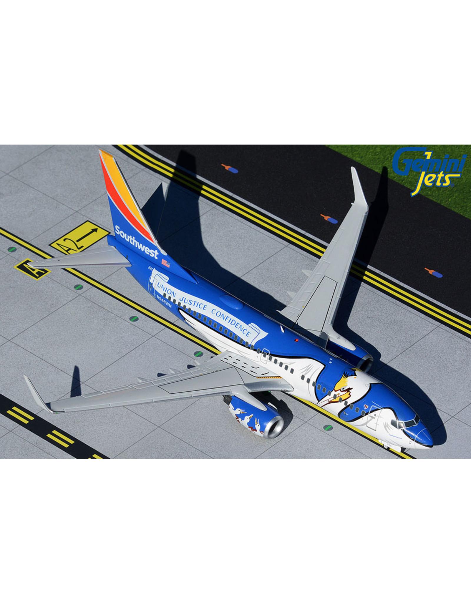 Gemini Gem2 Southwest 737-700 Louisiana One