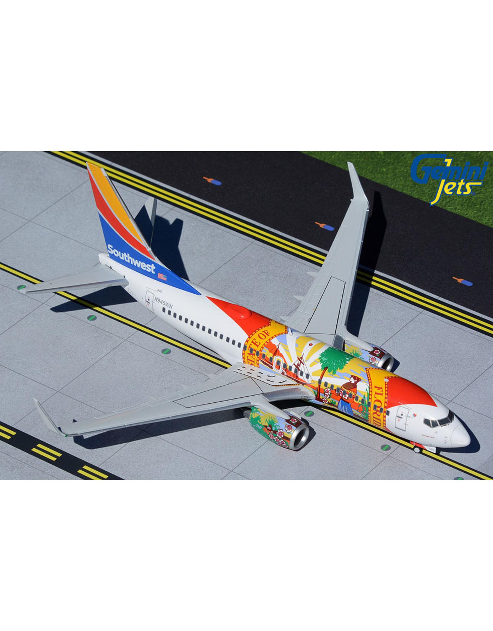 Gemini Gem2 Southwest 737-700  Florida One
