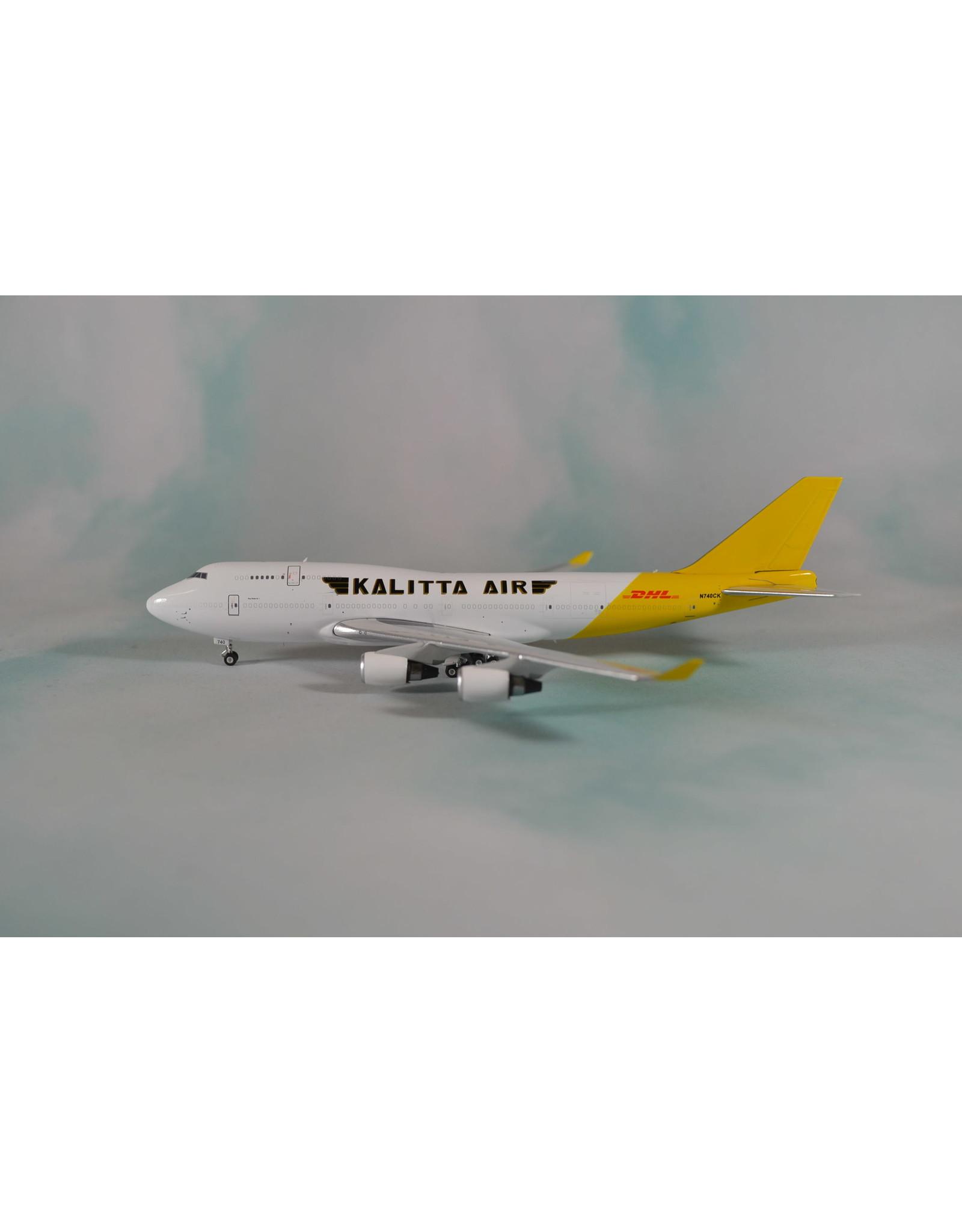 Phoenix PH4 Kalitta 747-400BCF DHL tail