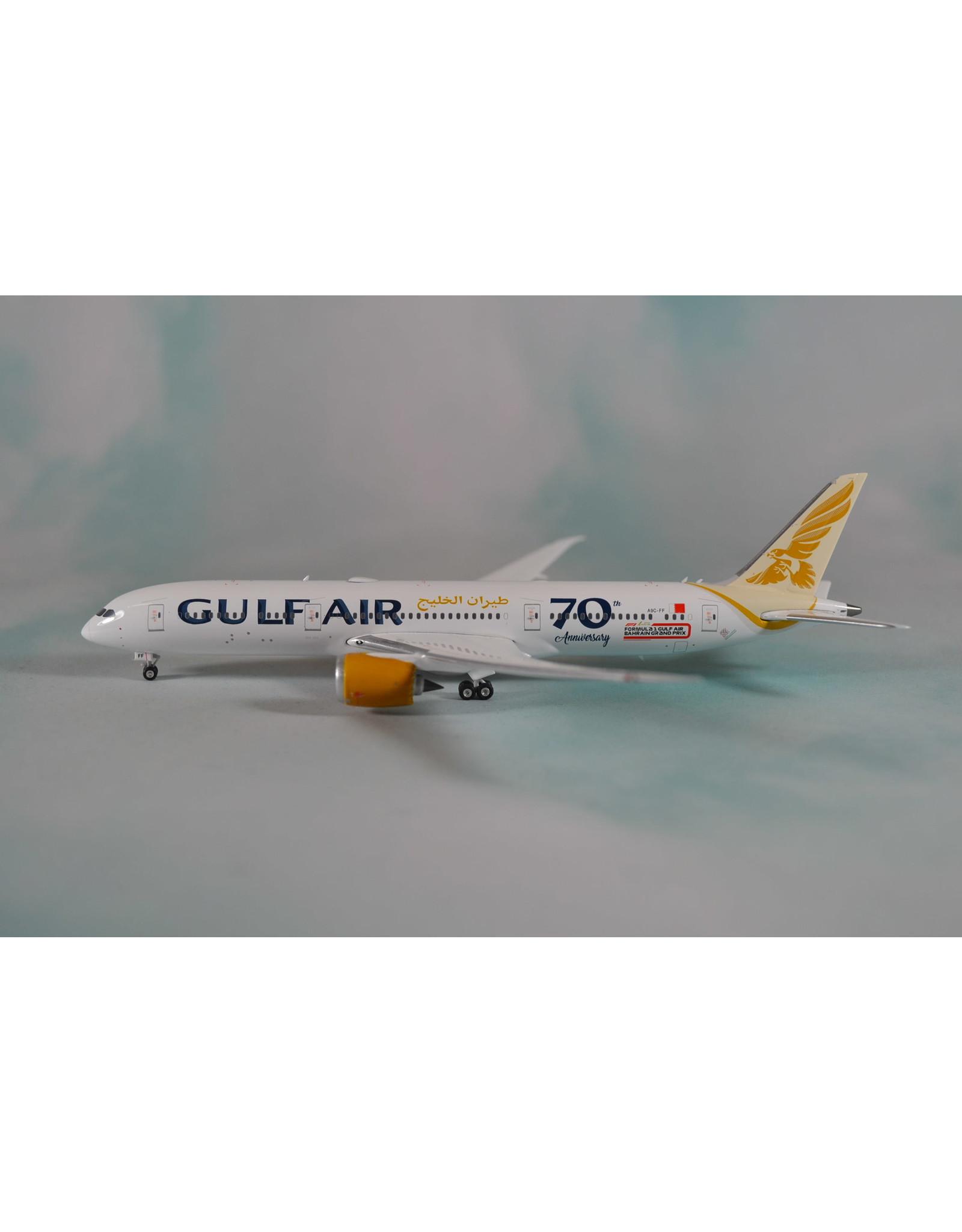 Phoenix PH4 Gulf Air 787-9 70th Anniversary A9C-FF