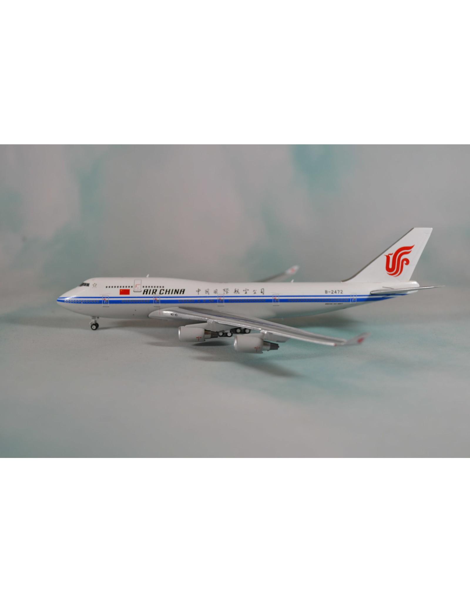 JC Wings JC4 Air China 747-400 B-2472