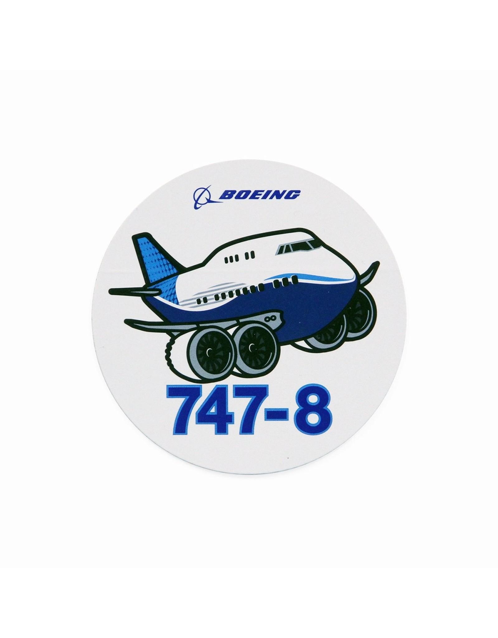 Boeing Sticker 747-8 Pudgy