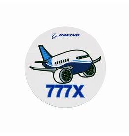 Boeing Sticker 777X Pudgy